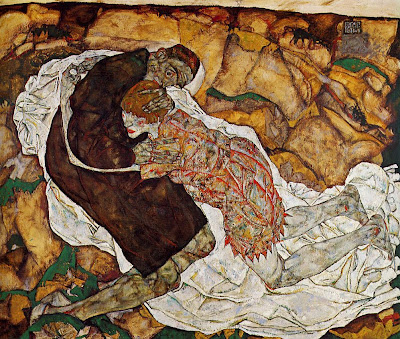 Egon Schiele - death and the madchen, 1915
