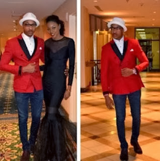 More Pictures of Ik Ogbonna  And Yvonne Nelson at Golden Icons Academy Awards.