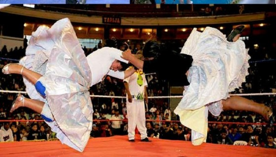 Lucha libre boliviana