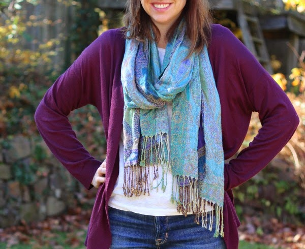 fall outfit, scarf, layers, hudson jeans