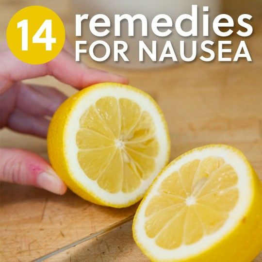 14 Soothing Remedies for Nausea & Morning Sickness