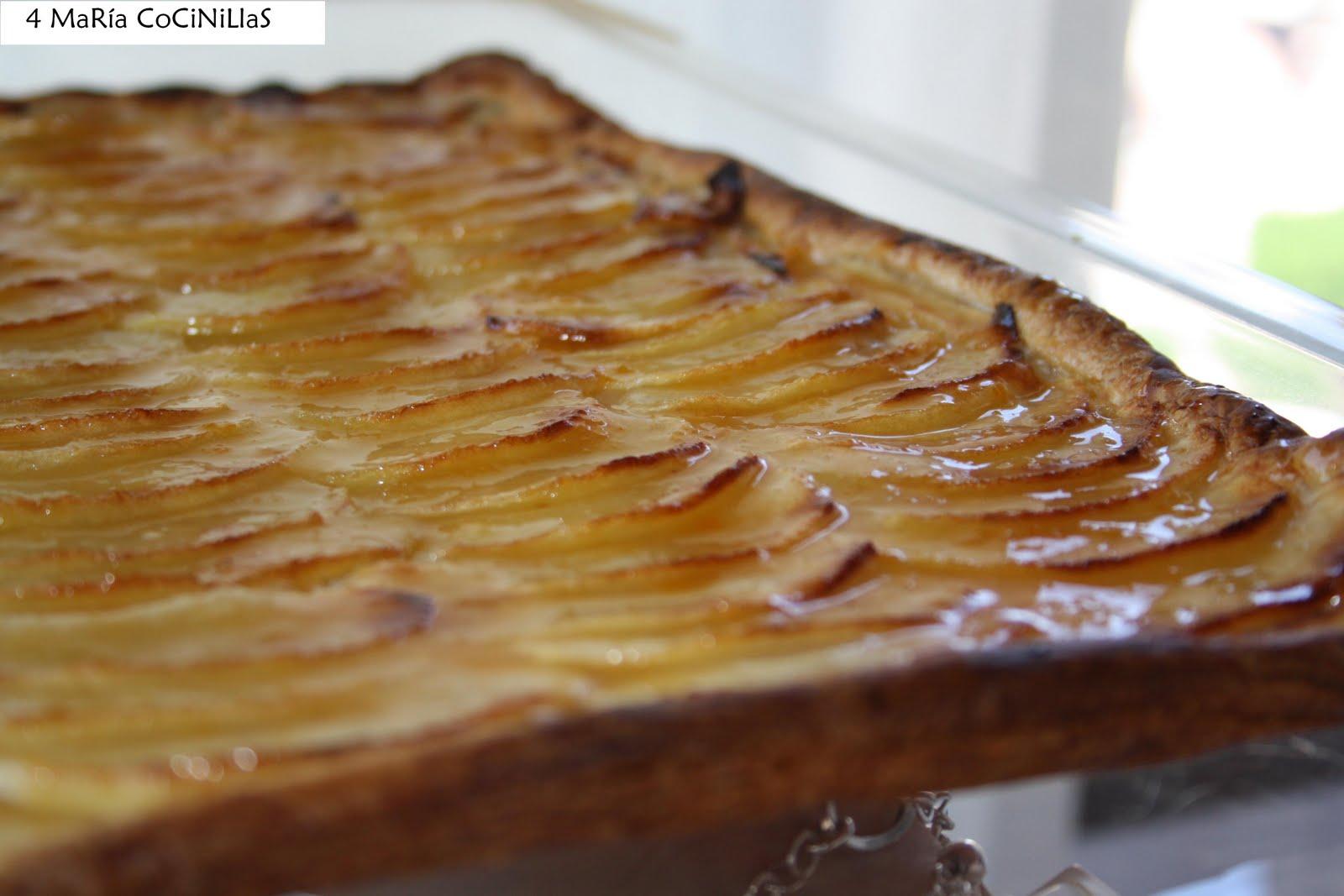 Tarta de manzana f cil y r pida las maria cocinillas - Reposteria facil y rapida ...