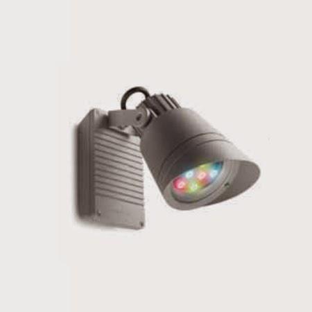Lamparas g iluminacion y dise o proyectores led para - Proyectores led exterior ...