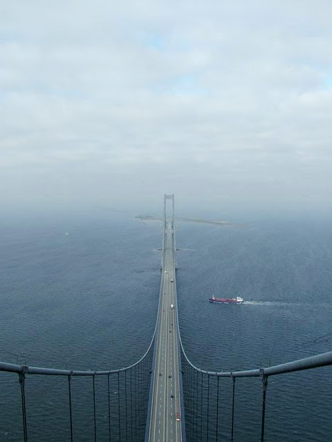 Great Belt Bridge, Denmark – 1,624 m