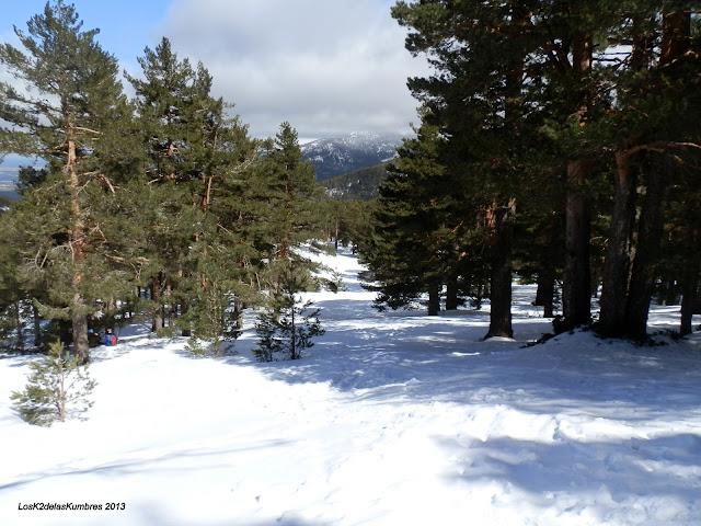 Pradera de Navalusilla nevada