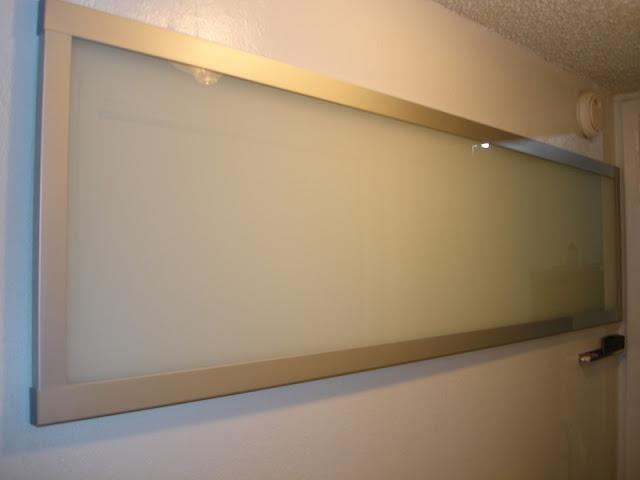 the 15 glass dry erase board get home decorating. Black Bedroom Furniture Sets. Home Design Ideas