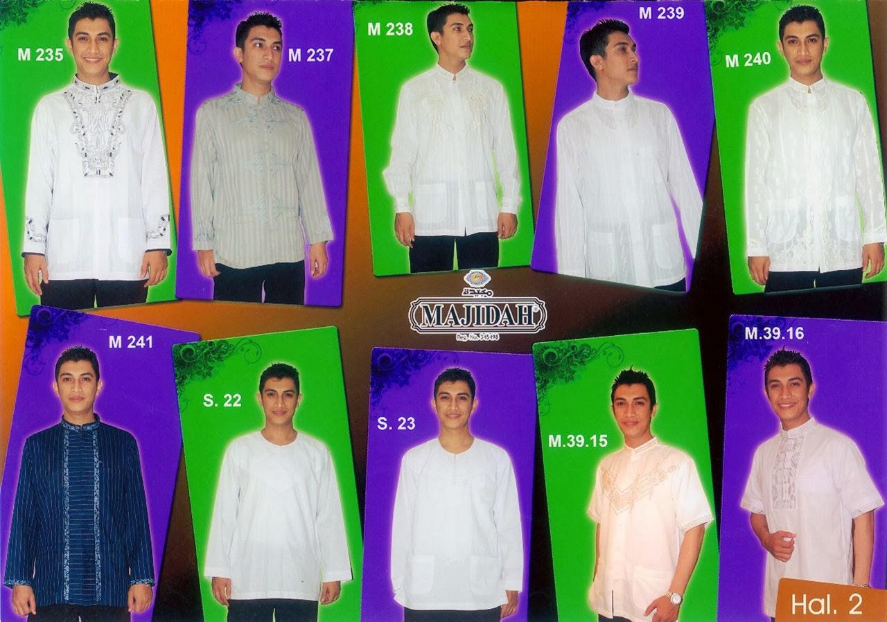 Model Busana Muslim Pria Modern 2014