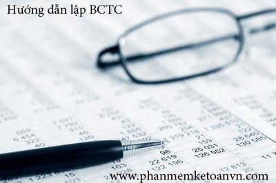 Hướng dẫn cách lập báo cáo tài chính, mẫu báo cáo tài chính