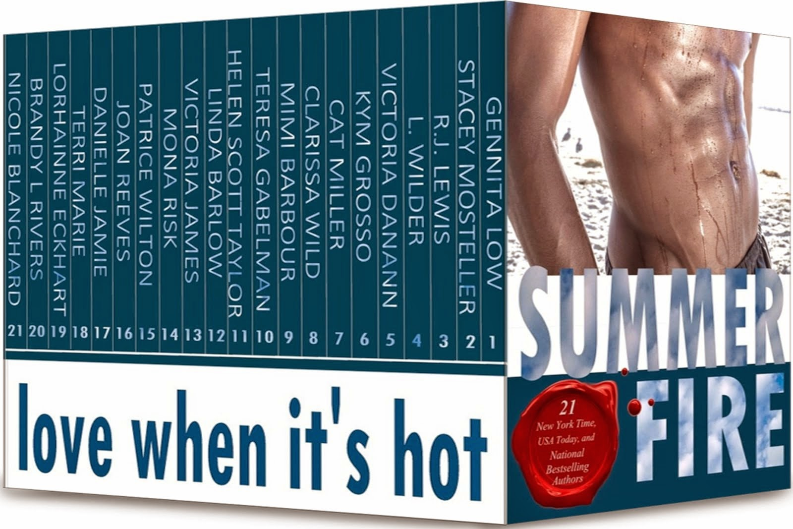 21 Bestselling Authors for $0.99! Preorder now!