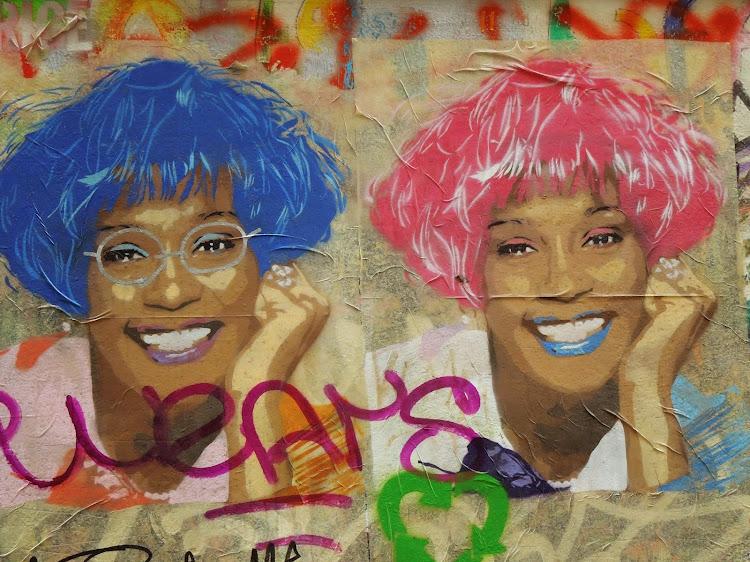 Montse Fotoblog: Graffiti Whitney