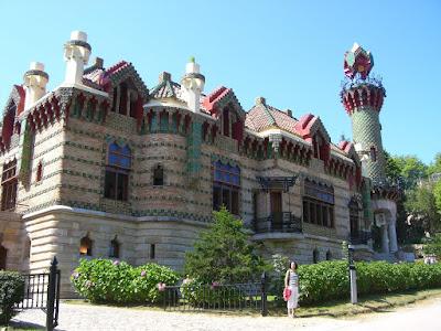 El Capricho designed by Gaudí