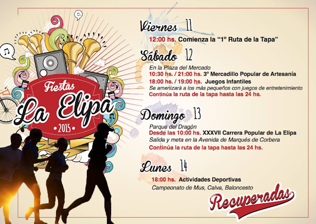 Fiesta de la Elipa 2015 - Programa de fiestas.