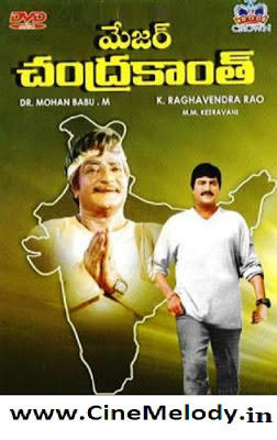 Major Chandrakanth Telugu Mp3 Songs Free  Download  1994