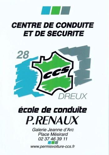 ECOLE DE CONDUITE P. RENAUX DREUX