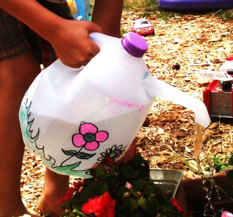 Milk Jug Watering Can Creative Learning