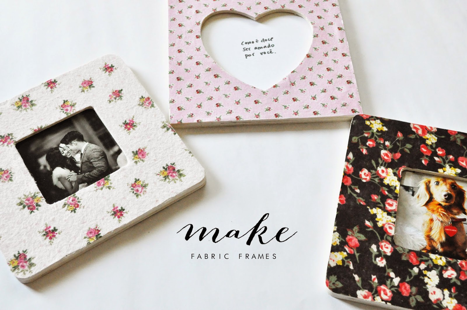 Pie N\' the Sky: M A K E :: fabric frames