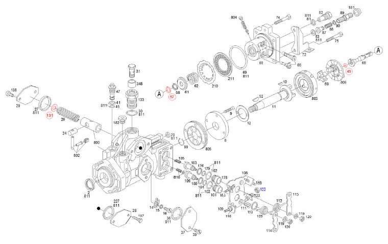 INJECTION-AUTOMOTIVE: 1460210008 BOSCH-O-RING
