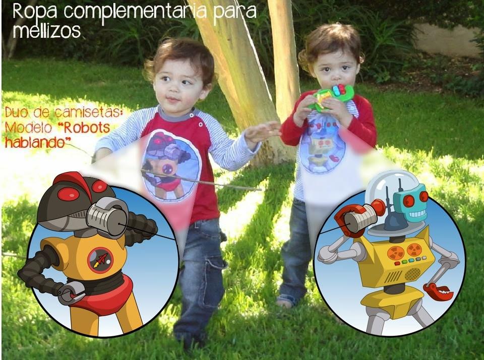 http://www.igualesdesiguales.com.ar/ropa-para-gemelos/pareja-de-camisetas-complementarias-robots/