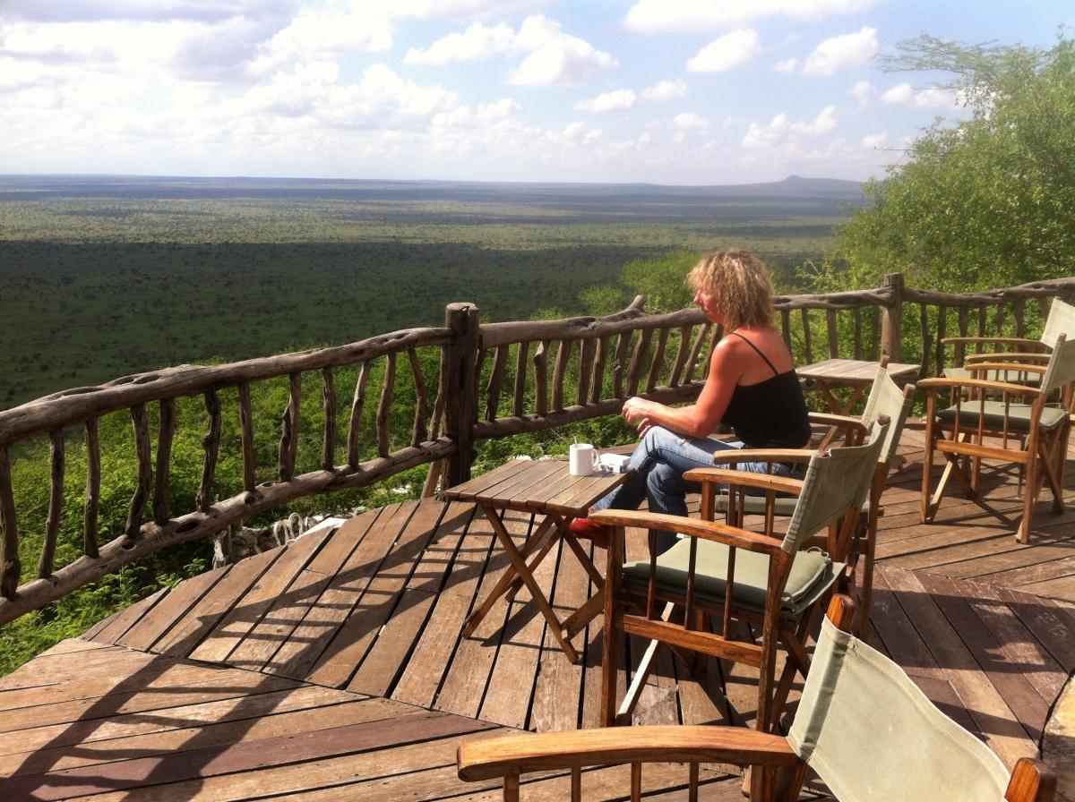 Tsavo, Kenia, Kenya, Reisen, Travel, Lions Bluff Lodge, Lodge