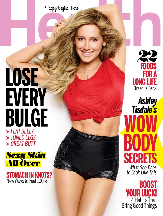 Actress, Singer, Model @ Ashley Tisdale - Health Magazine June 2015