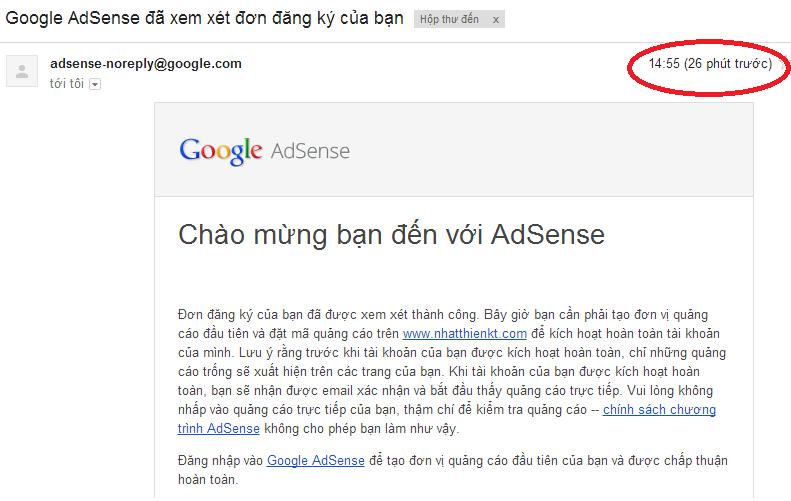 Chia sẻ kinh nghiệm đăng ký thành công Google adsense cho blog-website thủ thuật