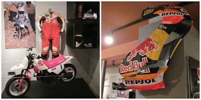 primera moto Marc Márquez y carenado roto