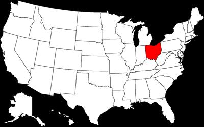 Usa Map Ohio Illinois Map - Usa map ohio
