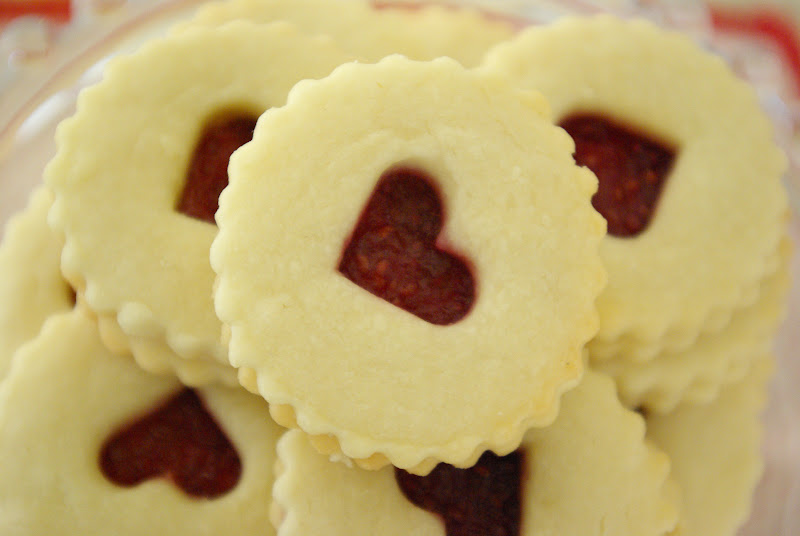 Valentine Linzer Cookies Recipes — Dishmaps