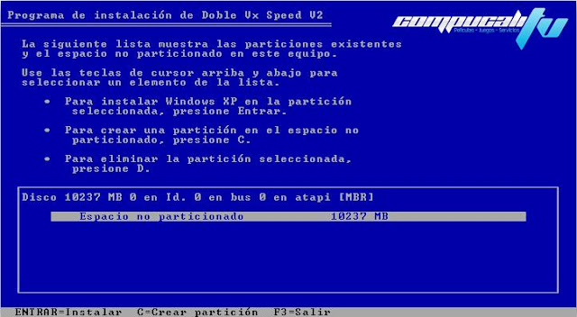 Windows XP SP3 Desatendido Full Español Doble Vx Speed V2 2012