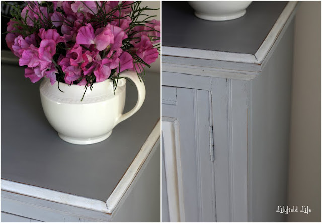 Annie Sloan Chalk Paint Paris Grey cabinet by Lilyfield Life