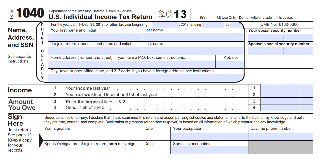 Form 1040 Brought To Life Stevens And Sweet Financial