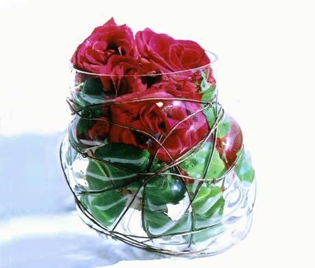 Le décor est là: Les vases en verre