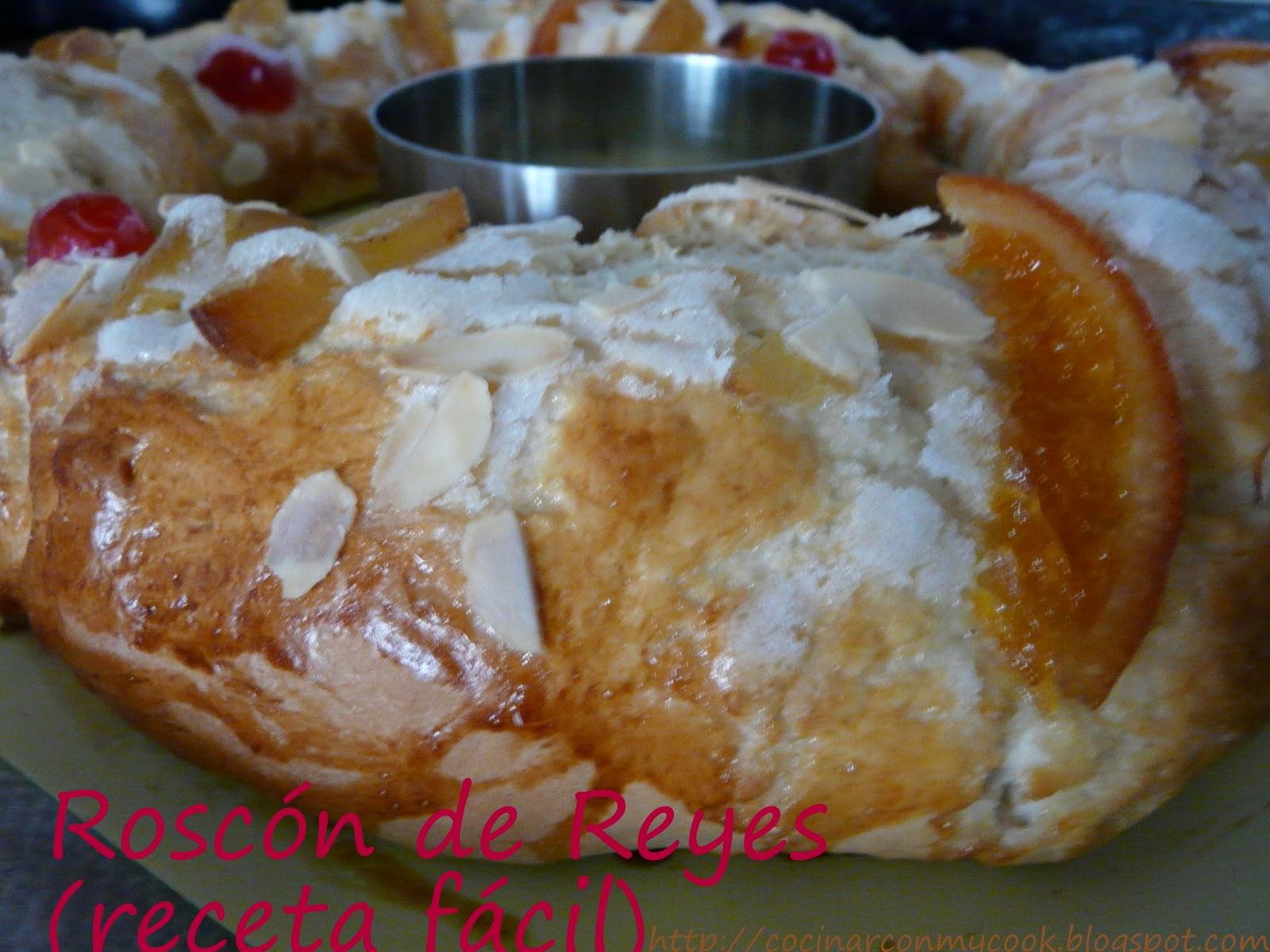 Cocinar con mycook rosc n de reyes receta f cil for Cocinar berenjenas facil