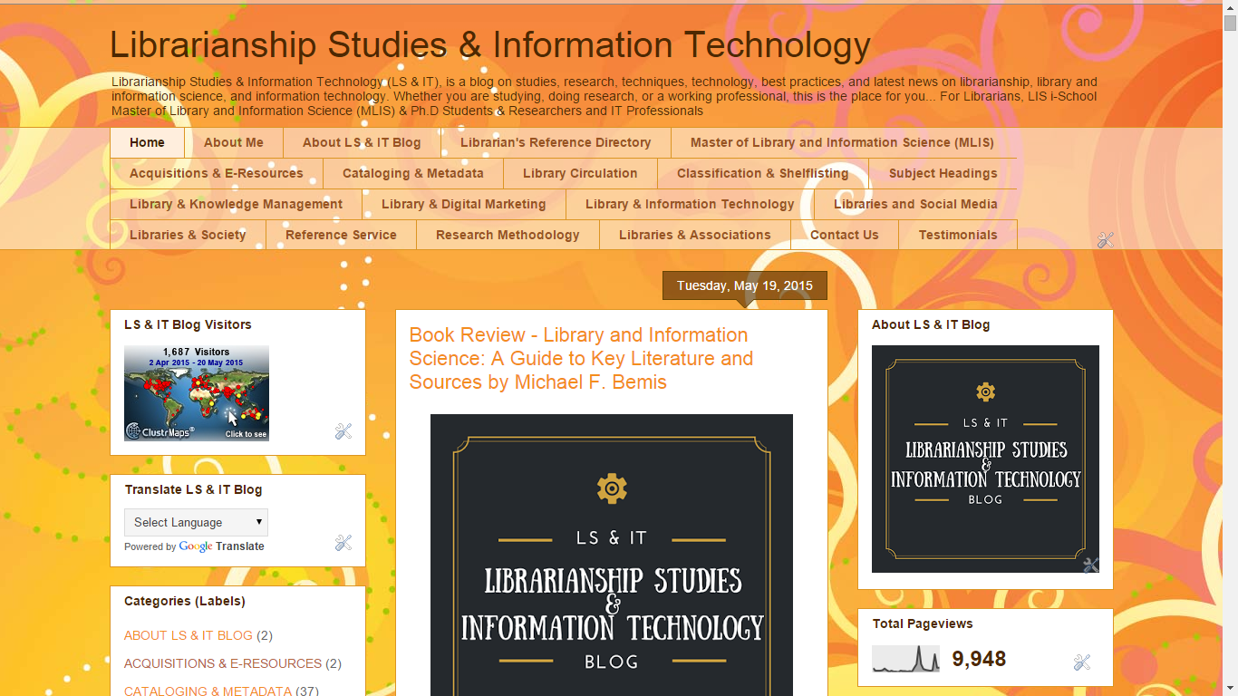 Key sources of information for a literature review