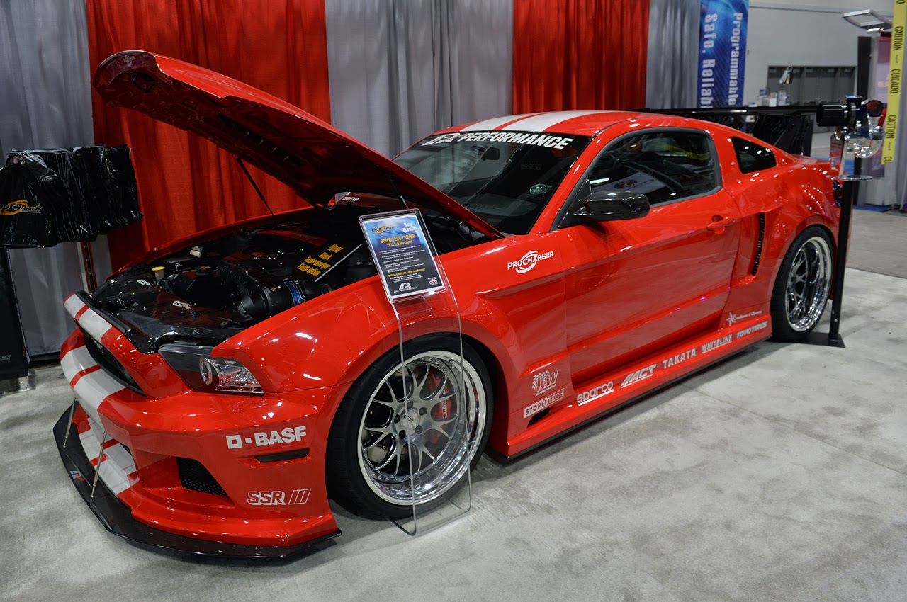 sema 2013 apr 2012 ford mustang widebody mustang news. Black Bedroom Furniture Sets. Home Design Ideas