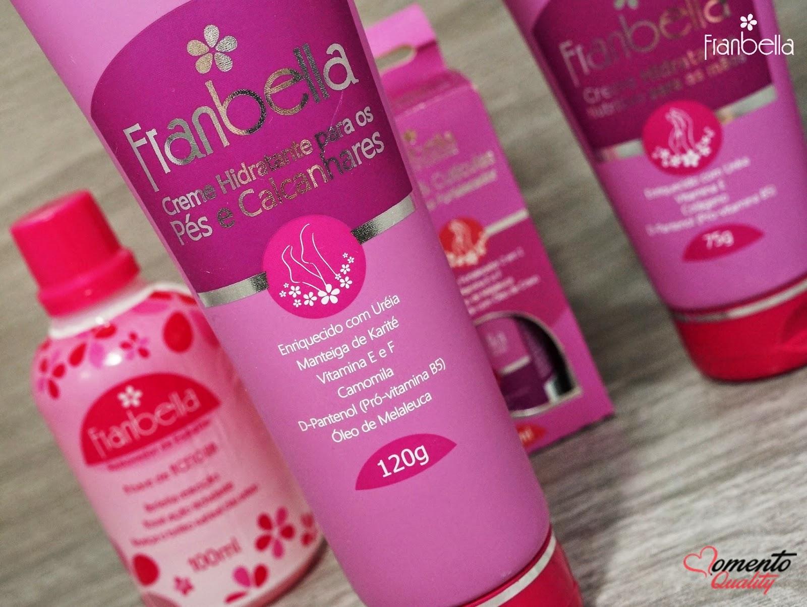 Franbella Creme Hidratante para Pés e Calcanhares
