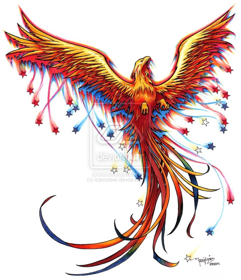 Tattoo Phoenix Pictures And Ideas