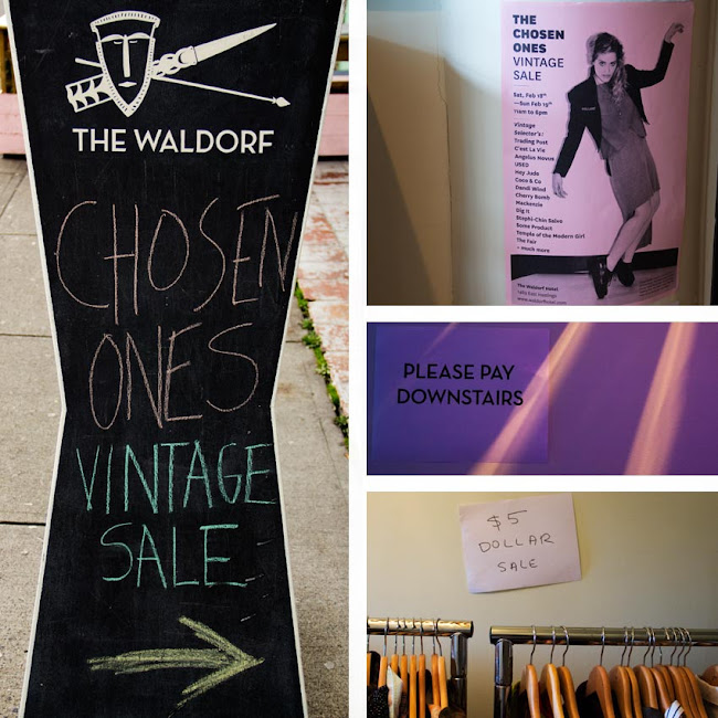 The Chosen Ones Vintage Sale, Waldorf