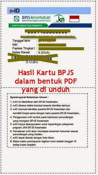 Kartu BPJS Kesehatan e-ID