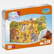 Vertical puzzle-Aladine-la savane