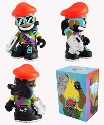 Major Lazer Kidrobot Mascot Vinyl Figure