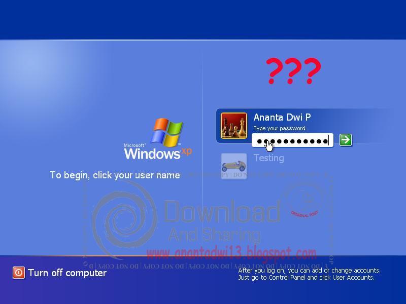 Cara Menghapus Password Administrator atau User PC yang Lupa (Full Gambar)