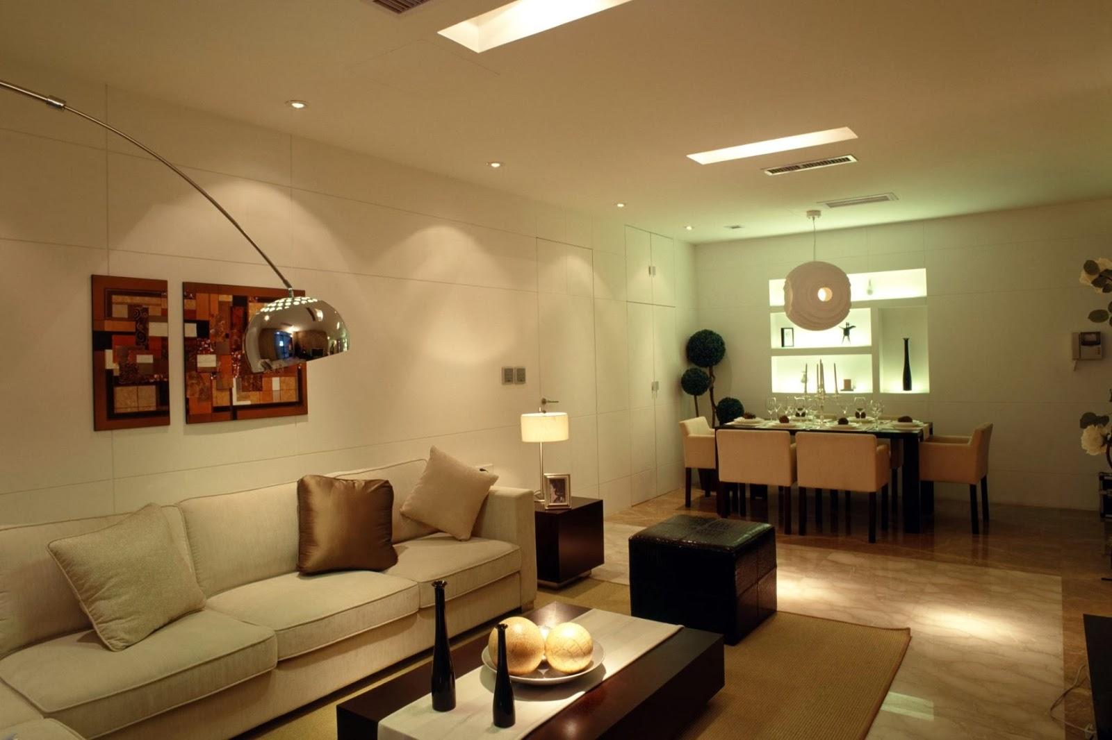 Disenar Una Sala De Estar En Linea ~  en la decoración de casas es cómo iluminar la sala de estar sin