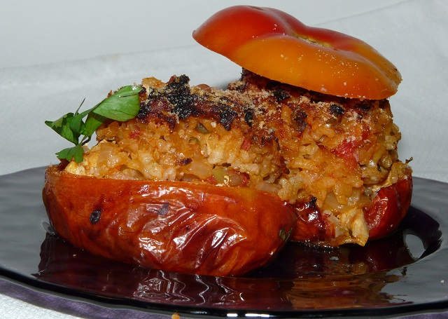 Cocina para pobres tomates rellenos al estilo provenzal - Cocina estilo provenzal ...