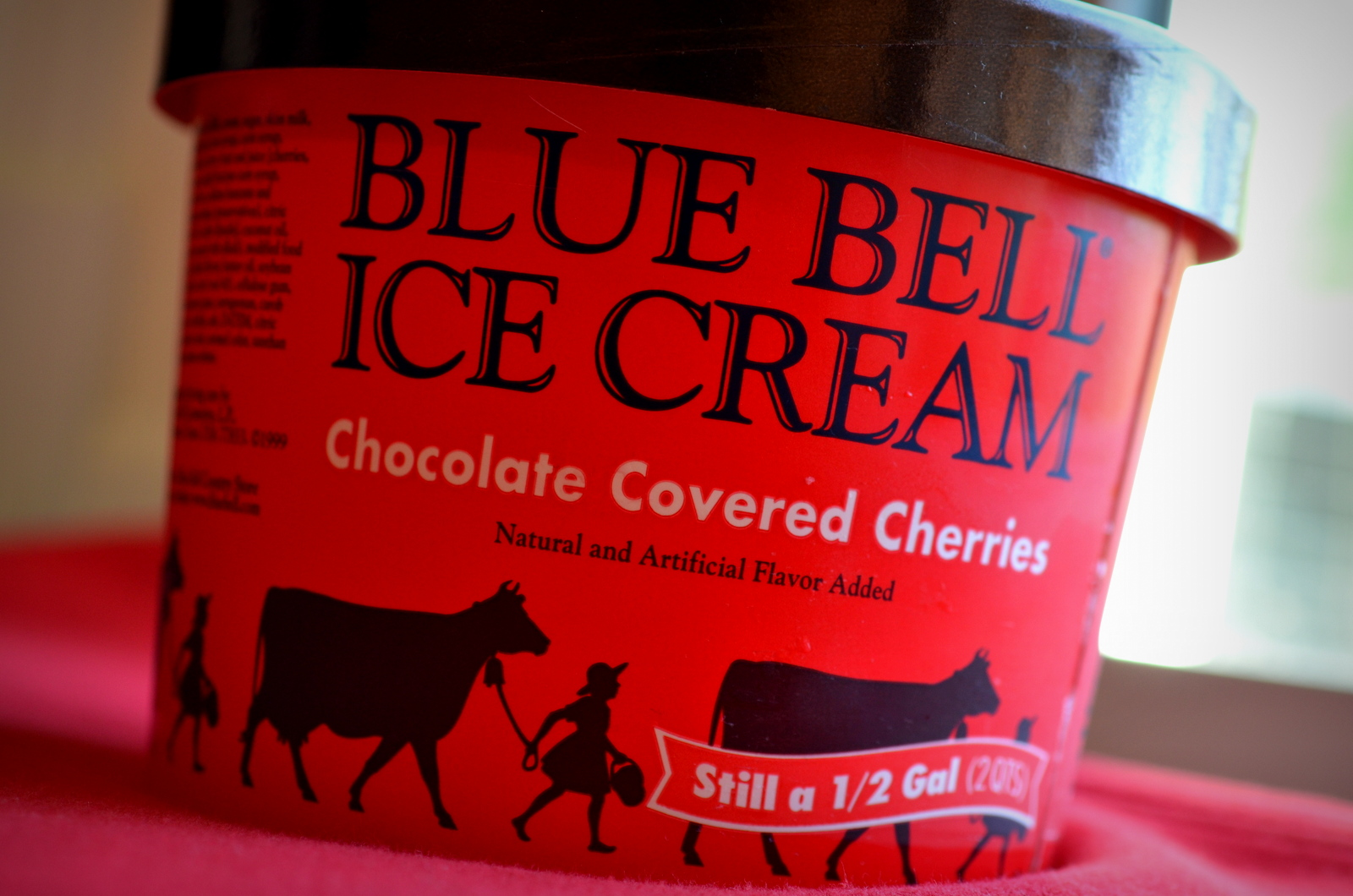 food and ice cream recipes REVIEW Blue Bell Chocolate Covered Cherries