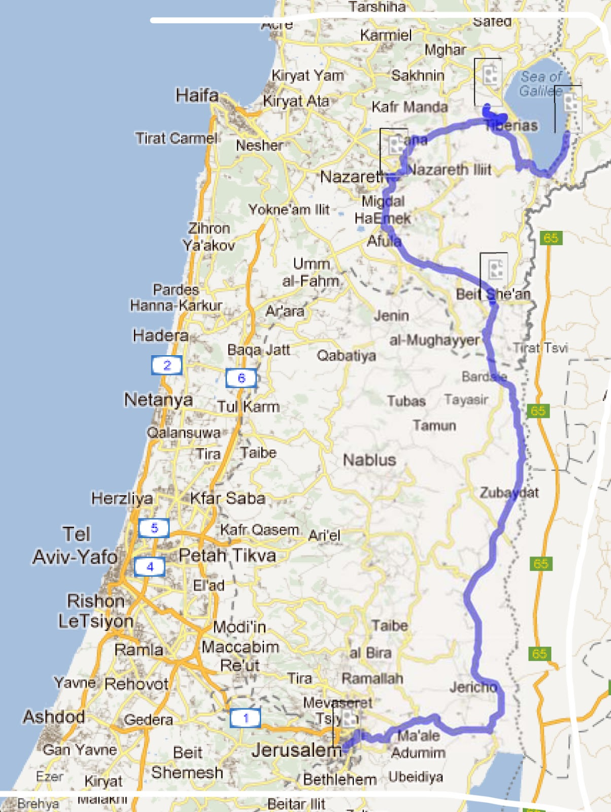Tour the Holy Land: Galilee
