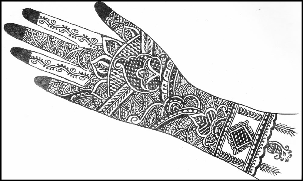 Outstanding Henna Design Templates Pattern - Wordpress Themes Ideas ...