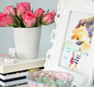 styling with watercolors