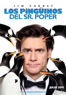 Cartel de la película Los pingüinos del Sr. Popper