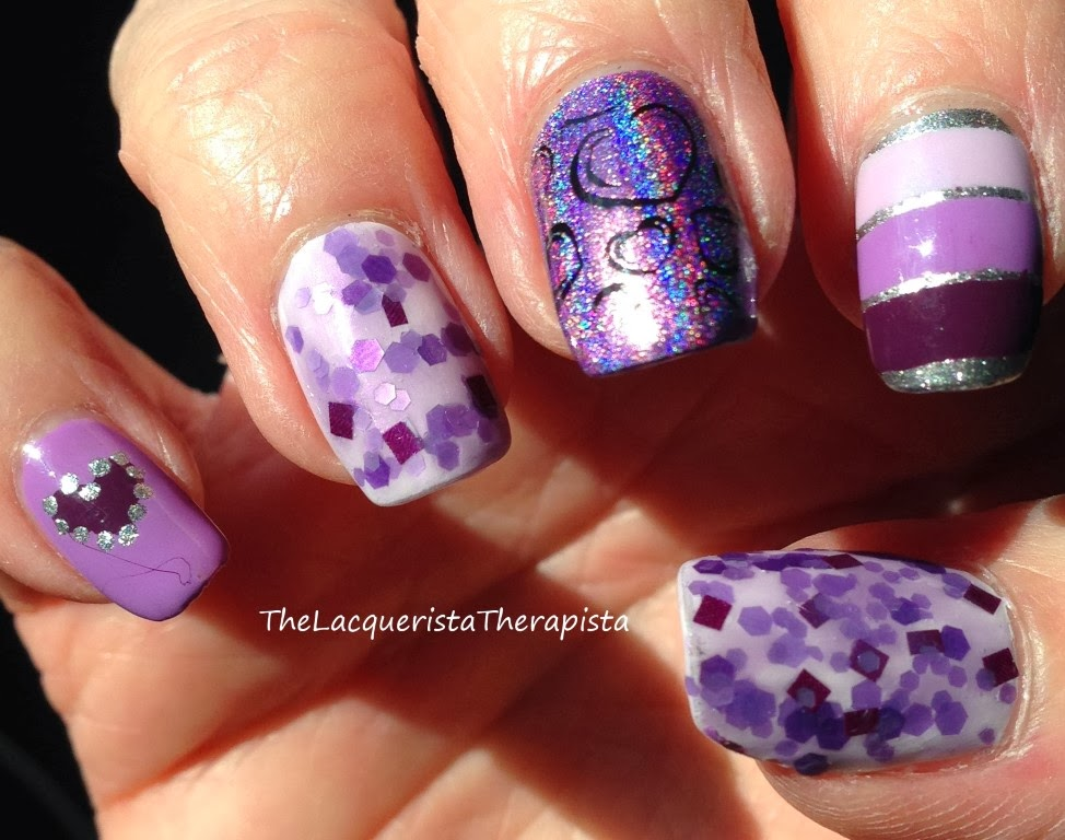 Purple_Skittles_Mani for World_Cancer_Day